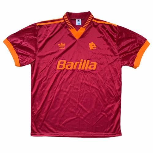 1992 94 ROMA HOME FOOTBALL SHIRT - XL