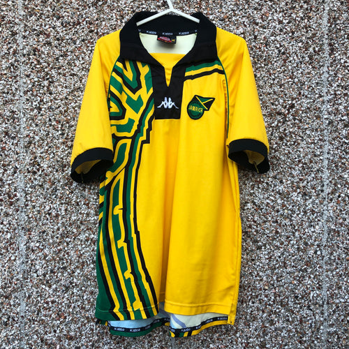 1998 2000 JAMAICA HOME FOOTBALL SHIRT - XL
