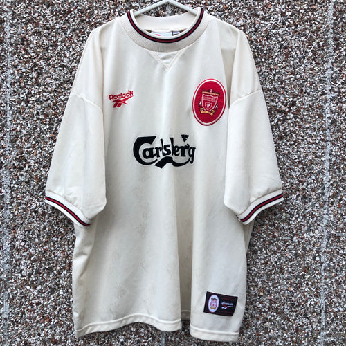 1996 1997 Liverpool Away Football Shirt - XXL