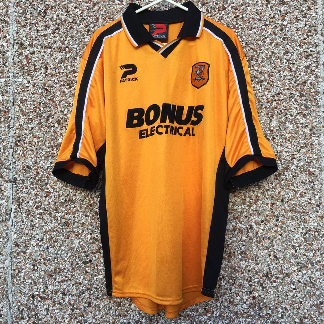2002 2004 Hull City Home Football Shirt - S