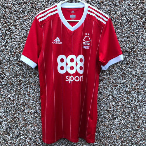 2017 2018 Nottingham Forest home Football Shirt (poor/good) - S