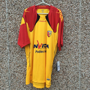 2010 2011 RC Lens home Football Shirt *NEW* - XXL