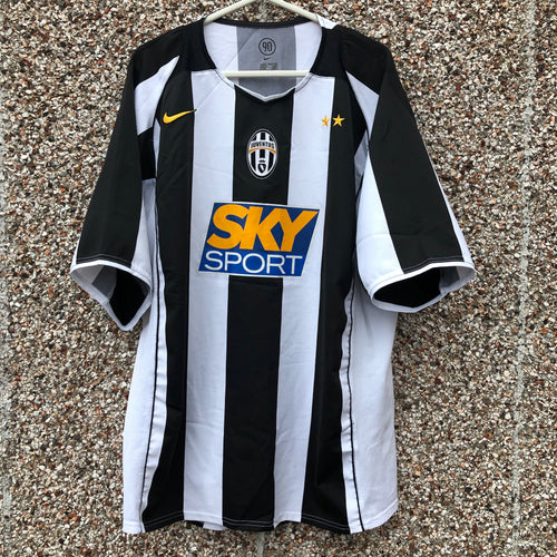 2004 2005 Juventus home football shirt - XL