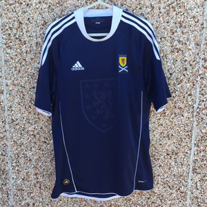 2010 2011 Scotland home Football Shirt - S