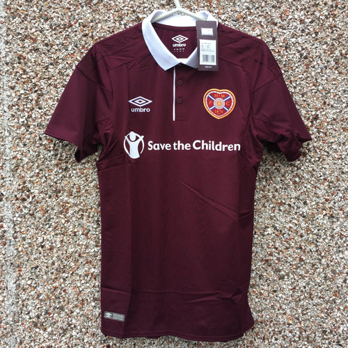 2017 2018 Heart of Midlothian Football Shirt *new* - S