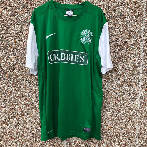 2013 2014 Hibernian home Football Shirt - L