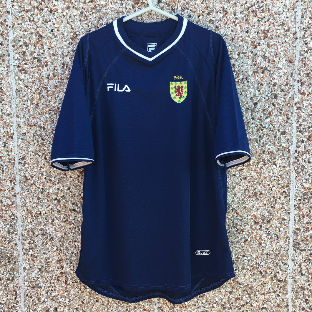 2000 2002 Scotland home football shirt - M