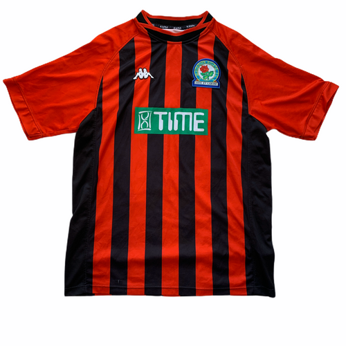 2000 01 BLACKBURN ROVERS AWAY FOOTBALL SHIRT - XL