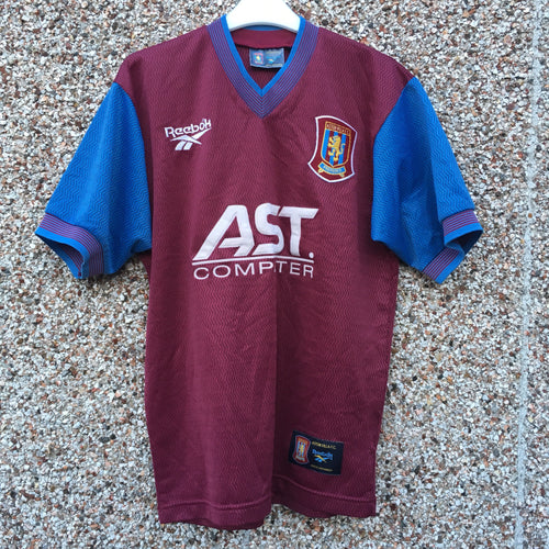 1997 1998 Aston Villa home Football Shirt - S