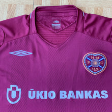 2008 09 HEART OF MIDLOTHIAN LS HOME FOOTBALL SHIRT - XL