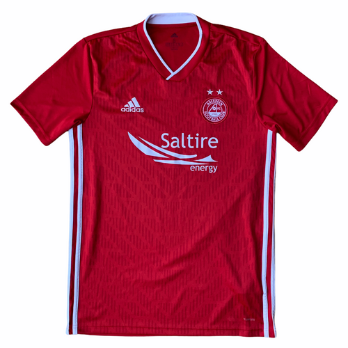 2017 18 ABERDEEN HOME FOOTBALL SHIRT - S
