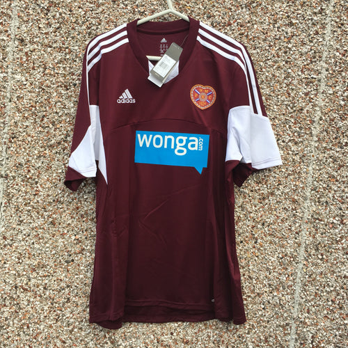 2013 2014 Heart of Midlothian home Football Shirt *BNWT* - XL