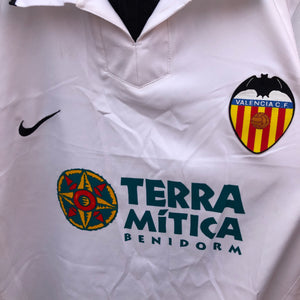 2002 2003 Valencia home football shirt - XL