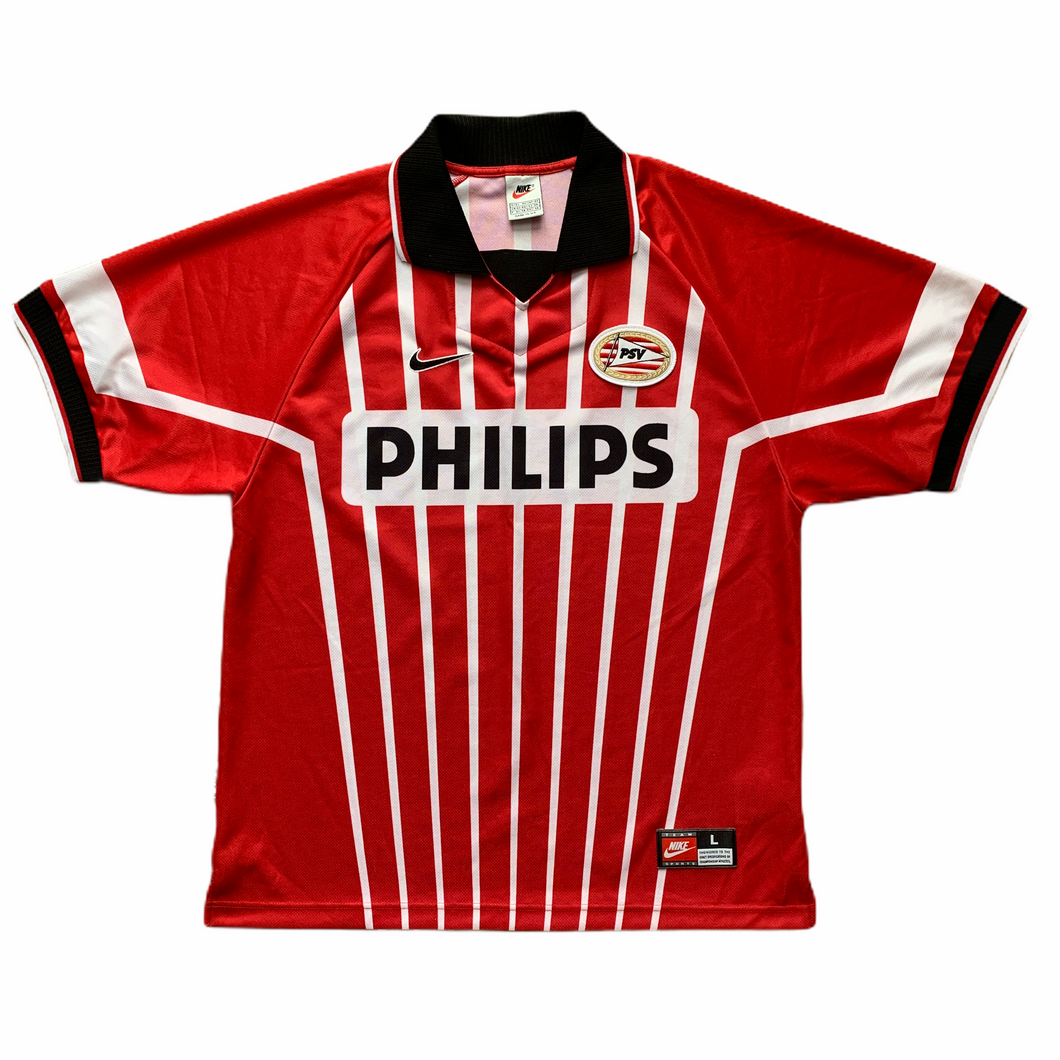 1997 98 PSV HOME FOOTBALL SHIRT (excellent) - L