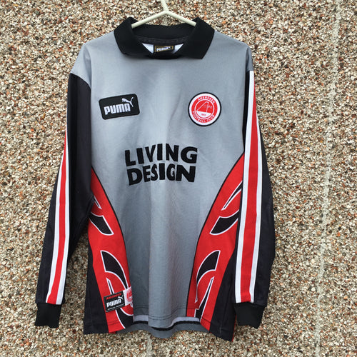 1997 1998 Aberdeen GK Goal Keeper Football Shirt - S