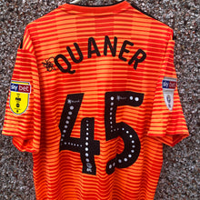 2018 2019 IPSWICH TOWN AWAY FOOTBALL SHIRT QUANER #45 - L