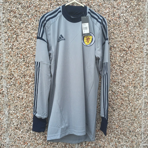 2011 2013 Scotland Player Issue Goal Keeper Home Football Shirt BNIB - S