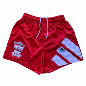 1991 92 LIVERPOOL HOME SHORTS - L.Boys 28""
