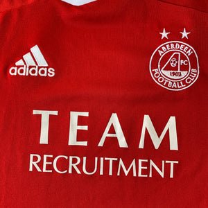 2011 12 ABERDEEN HOME FOOTBALL SHIRT - S