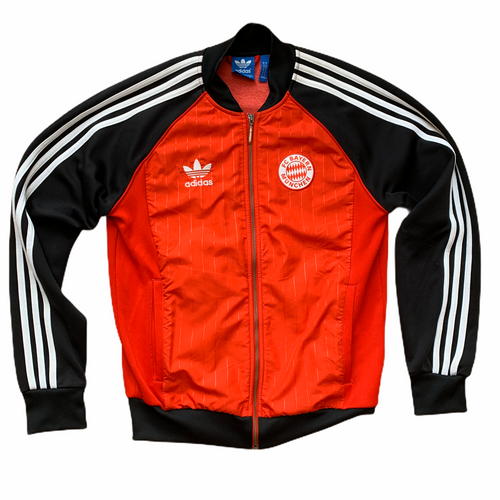 2019 20 BAYERN MUNICH SUPERSTAR TRACK JACKET - S