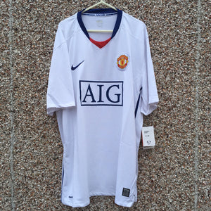 2008 2010 Manchester United away Football Shirt BNWT - XXL