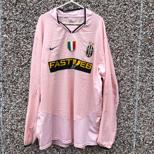 2003 2004 Juventus L/S football shirt - XL