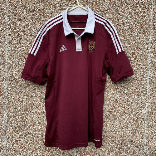 2014 2015 HEART OF MIDLOTHIAN HOME FOOTBALL SHIRT Walker #7 - M