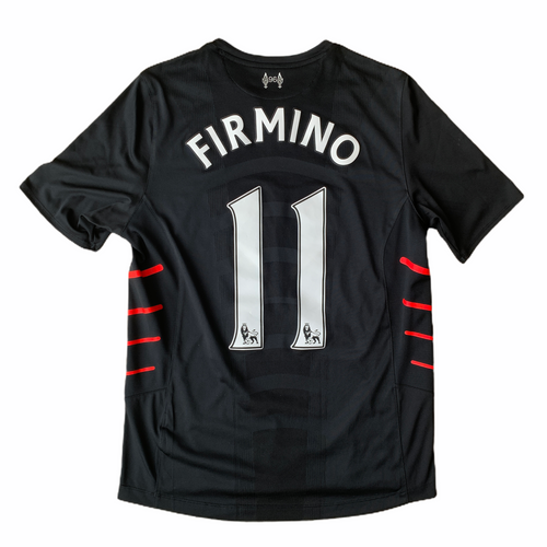 2016 17 LIVERPOOL AWAY FOOTBALL SHIRT #11 FIRMINO - M
