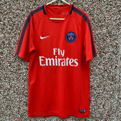 2017 2018 PARIS SAINT-GERMAIN TRAINING FOOTBALL SHIRT - S