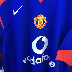 2005 2006 Manchester United away Football Shirt - XL