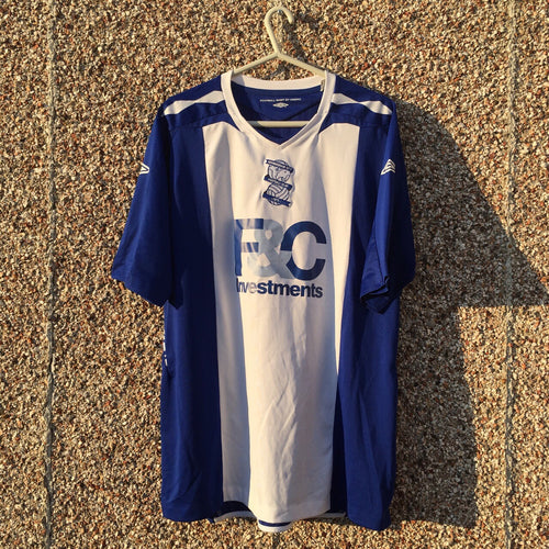 2007 2008 Birmingham City home Football Shirt - XL