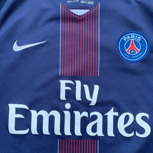 2016 17 PARIS SAINT-GERMAIN HOME FOOTBALL SHIRT - S