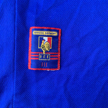 1998 00 FRANCE HOME FOOTBALL SHIRT - M