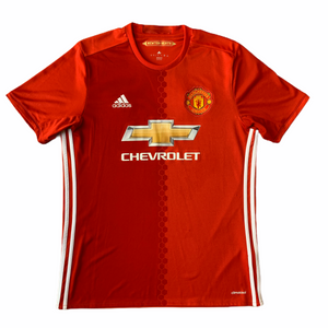 2016 17 MANCHESTER UNITED HOME FOOTBALL SHIRT- L