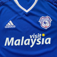 2016 17 CARDIFF CITY HOME FOOTBALL SHIRT - S