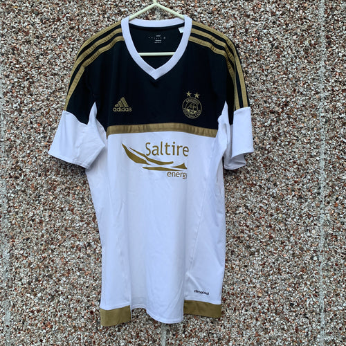 2015 2016 ABERDEEN AWAY FOOTBALL SHIRT - M
