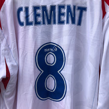 2006 07 Rangers away L/S football shirt #8 CLEMENT (excellent) - XXL