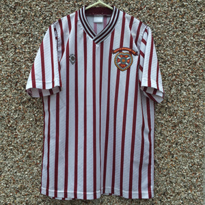 1989 1990 Heart of Midlothian away Football Shirt - S