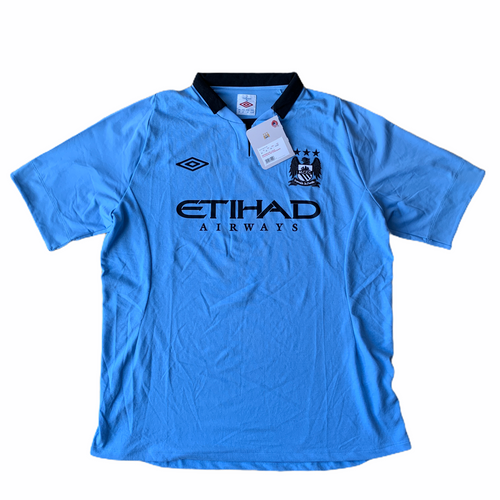 2012 13 Manchester City Home Football Shirt *BNWT* - XL