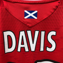 2008 2009 Rangers Third Football Shirt DAVIS #35 - L