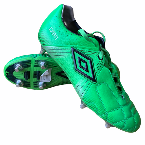 2010 UMBRO SAMPLE PLAYER ISSUE GT PRO 2 SG FOOTBALL BOOTS (DARREN BENT) *IN BOX* - UK 10