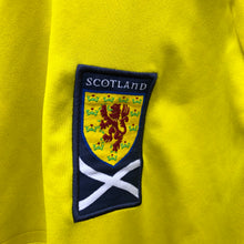 2010 2011 Scotland away Long Sleeves LS Football Shirt - XL