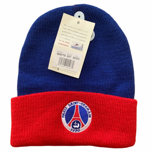 1990's Paris Saint-Germain Wooly Bobble Beanie Hat PSG BNWT