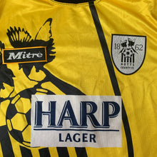 1995 96 NOTTS COUNTY AWAY FOOTBALL SHIRT - L