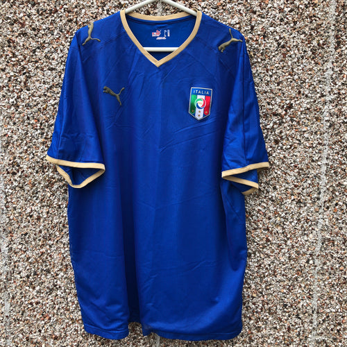 2007 2008 Italy home football shirt - XXL