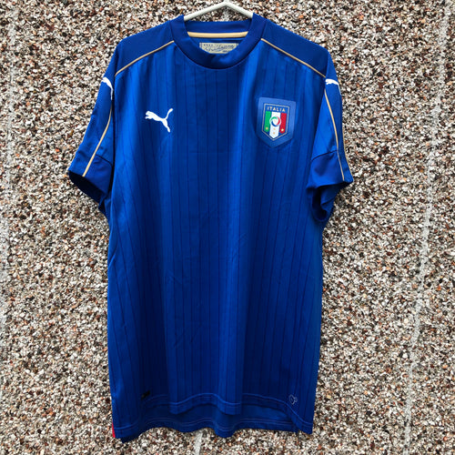 2016 2017 Italy home Football Shirt - XL