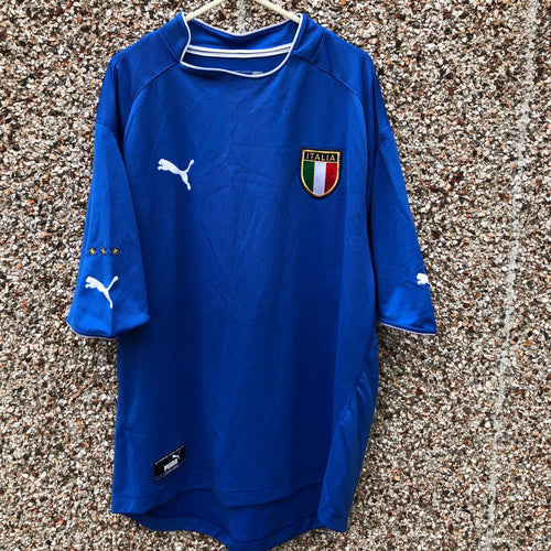 2003 2004 Italy home football shirt - XXL