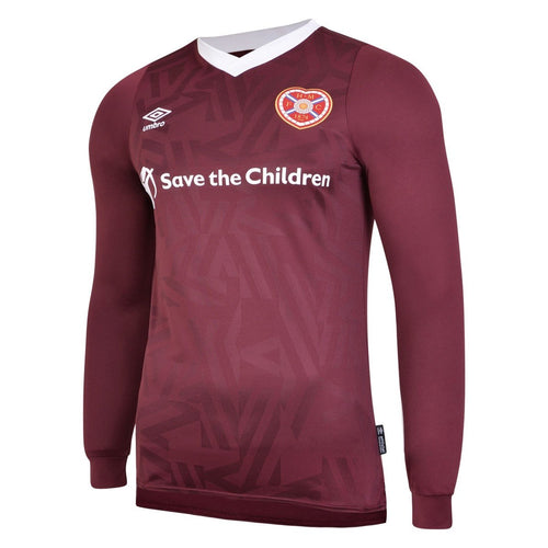 2019 2020 HEART OF MIDLOTHIAN L/S HOME FOOTBALL SHIRT *BNWT* - Sizes