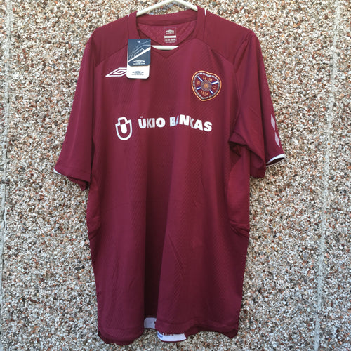 2008 2009 Heart of Midlothian home Football Shirt *BNWT* - XL