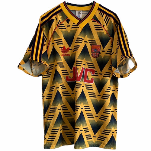 1991 1993 Arsenal away Football Shirt - M